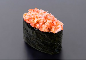 Spicy Kani nigiri