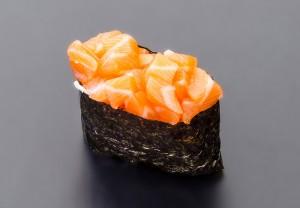 Sake nigiri Hot