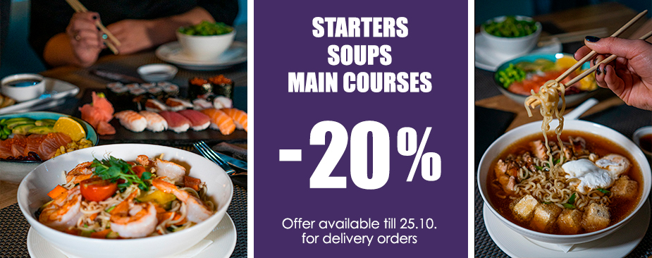 20% off to Bento food delivery