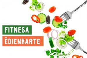 Fitness menu at restaurant Bento s/m Aleja