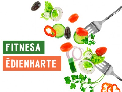 Fitness menu at restaurant Bento s/m Aleja