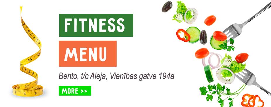 Fitness menu