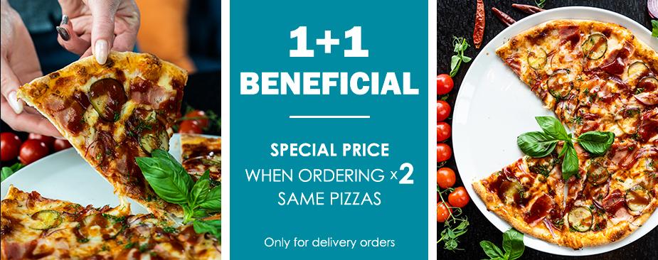 Pizza 1+1
