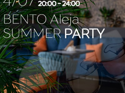 Bento s/c Aleja invites to the summer party