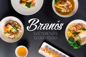 Sunday brunch at restaurant Bento Grostonas street 1