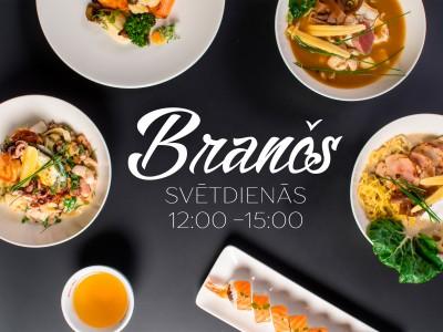 Sunday brunch at restaurant Bento Grostonas street 1