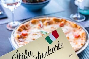 Italian menu in restaurant Bento s/m Aleja
