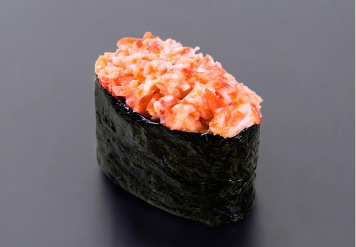 Spicy Kani nigiri (1 pcs.)