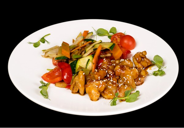 Chicken in Teriyaki sauce