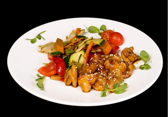 Chicken in Teriyaki sauce