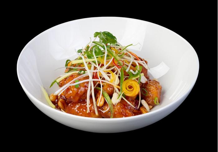 Chicken in ginger nut sauce