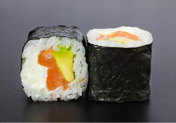 Sake Avokado maki (8 pcs.)