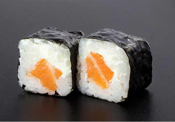 Sake Cheese maki (8 pcs.)