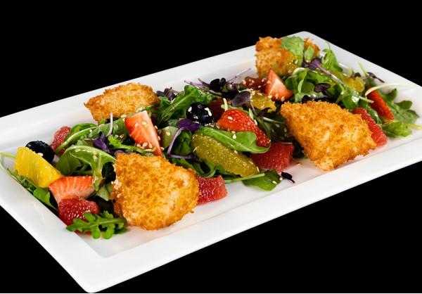 Tempura Mozzarella salad