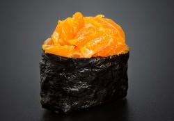 Spicy Sake nigiri