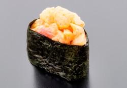 Spicy Tai nigiri