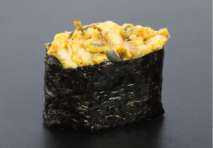 Spicy Unagi nigiri (1 pcs.)