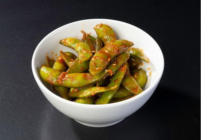 Edamame beans Chili