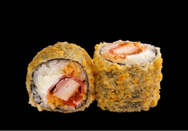 Italian tempura maki (8 pcs.)