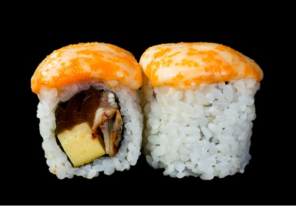 Unagi Hot maki (8 pcs.)
