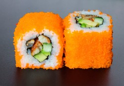 Unagi California maki (8 pcs.)