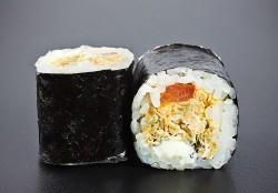 Salmon Fry maki (8 pcs.)